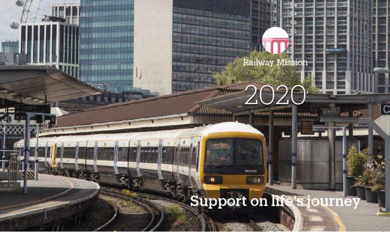 2019 Railway Mission Desktop calendar