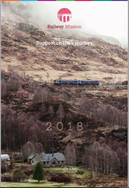 2018 Railway Mission Calendar and christmas cards