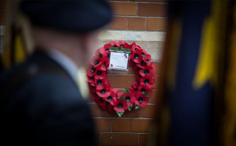 Somme Poppy wreath