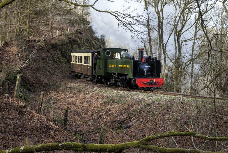 Vale of Rheidol Railway | Steam Train in Mid Wales Devil's Bridge