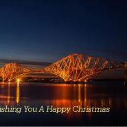 Christmas Card Forth Rail Bridge